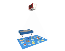 Интерактивный пол iSandBOX СТАНДАРТ (2в1) Пол+Песочница